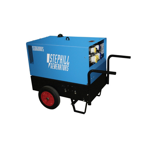 6kva diesel generator for hire oxfordshire